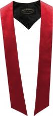 écharpes de couleur rouge