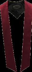 écharpes de couleur Bordeaux