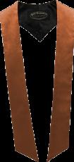 écharpes de couleur Orange cuivrée