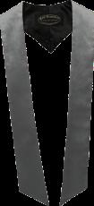 écharpes de couleur Gris argent