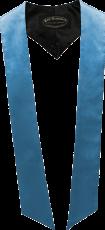 écharpes de couleur Bleu clair