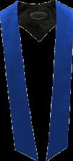écharpes de couleur Bleu royal
