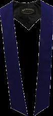 écharpes de couleur Bleu marine