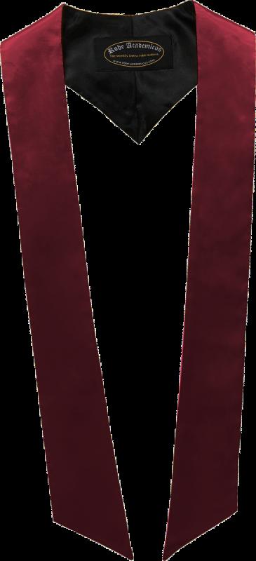 Schärpe in der Farbe Bordeaux