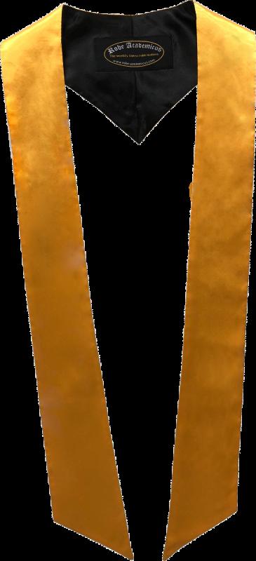 Schärpe in der Farbe Goldgelb