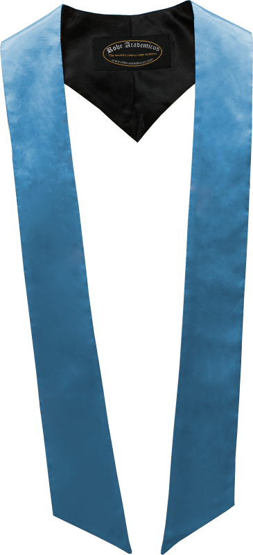 Schärpe in der Farbe Hellblau