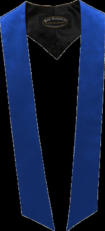 Schärpe in der Farbe Royalblau