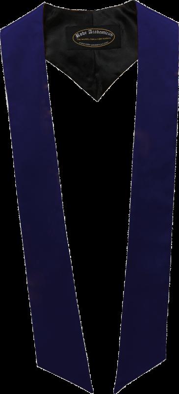 Schärpe in der Farbe Navyblau